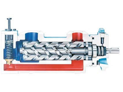 Triple-Screw-Pump